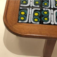 Tile Top Table by Guillerme et Chambron - 1397599