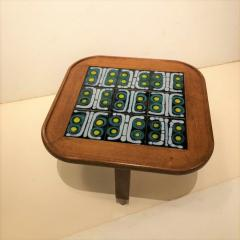Tile Top Table by Guillerme et Chambron - 1397601