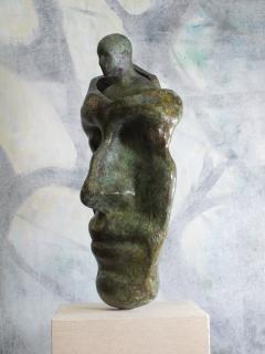 Tim Rawlins Reflective Self Unique Bronze Sculpture - 1757237