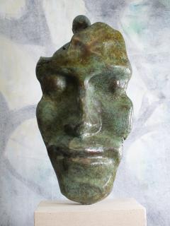 Tim Rawlins Reflective Self Unique Bronze Sculpture - 1757238