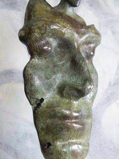 Tim Rawlins Reflective Self Unique Bronze Sculpture - 1757242