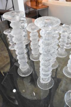 Timo Sarpaneva Set of 34 Timo Sarpaneva Festivo Candlesticks - 1457757