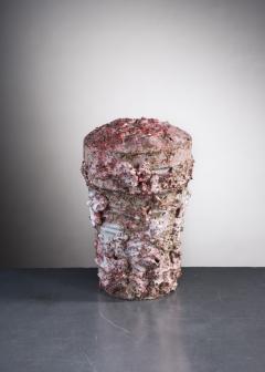 Tina Langhoff Tina Langhoff stoneware and porcelain jar with lid - 2013153