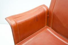 Tito Agnoli Tito Agnoli Korium Leather Chair by Matteo Grassi Italy1 970s - 1830248