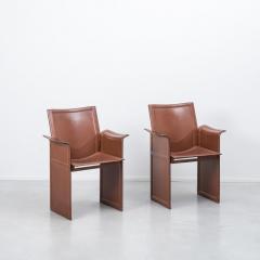 Tito Agnoli Tito Agnoli Korium chairs Mateo Grassi Italy 1970s Three available - 1238112