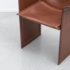 Tito Agnoli Tito Agnoli Korium chairs Mateo Grassi Italy 1970s Three available - 1238116