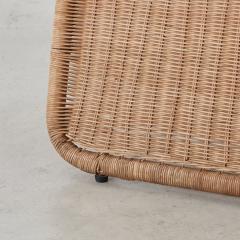 Tito Agnoli Tito Agnoli Rattan P3 Easy Chair Pierantonio Bonacina 1960s - 1208636