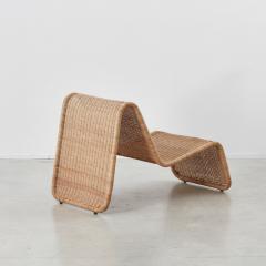 Tito Agnoli Tito Agnoli Rattan P3 Easy Chair Pierantonio Bonacina 1960s - 1208637