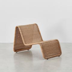Tito Agnoli Tito Agnoli Rattan P3 Easy Chair Pierantonio Bonacina 1960s - 1208639