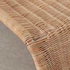 Tito Agnoli Tito Agnoli Rattan P3 Easy Chair Pierantonio Bonacina 1960s - 1208641