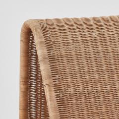 Tito Agnoli Tito Agnoli Rattan P3 Easy Chair Pierantonio Bonacina 1960s - 1208642
