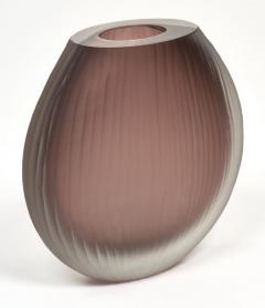 Tobia Scarpa Frosted Murano Glass Vases in the Tobia Scarpa Manner - 632444