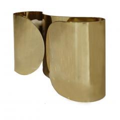 Tobia Scarpa Mid Century Modern Tobia Scarpa Model Foglia Made of Brass Italian Sconces - 2035545
