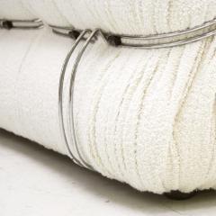 Tobia Scarpa Tobia Scarpa Mid Century Modern Boucl Fabric Soriana Italian Sofa - 2079070