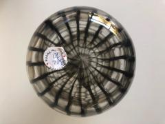 Tobia Scarpa Tobia Scarpa for Venini Murano Blown Glass Midcentury Brown Occhi Murrine Vase - 991500