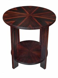 Todd Hase Round Zebrawood Occasional Table - 1756239