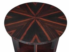 Todd Hase Round Zebrawood Occasional Table - 1756241