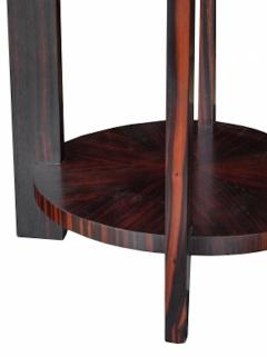 Todd Hase Round Zebrawood Occasional Table - 1756242