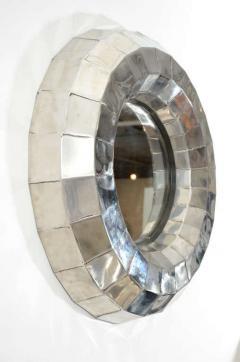 Tom Dixon Tom Dixon Faceted Steel Pedestal Basin and Mirror - 1024286