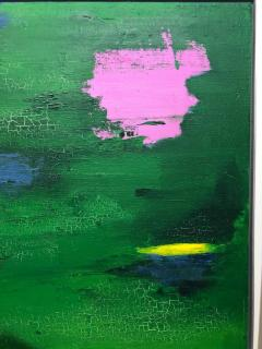 Tom Goldenberg Crossing Walking Green Abstract - 1026705