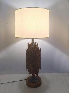 Tom Greene Brutalist Table Lamp by Tom Greene for Feldman - 209176
