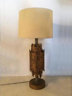 Tom Greene Brutalist Table Lamp by Tom Greene for Feldman - 209177