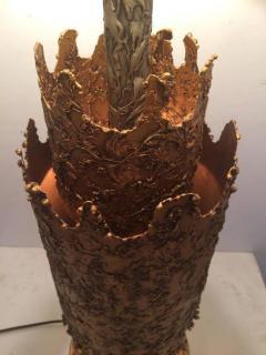 Tom Greene Brutalist Table Lamp by Tom Greene for Feldman - 209183