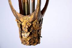 Tom Greene Tom Greene Brutalist Torch Cut Chandelier - 410326