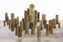 Tom Greene Tom Greene for Feldman Lighting copper light sculpture - 2042714