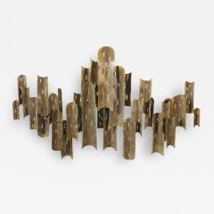 Tom Greene Tom Greene for Feldman Lighting copper light sculpture - 2044035