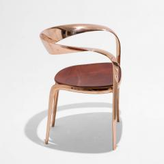 Tom Vaughan Goldsmiths Chair contemporary bronze chair by Tom Vaughan - 1627031