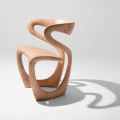 Tom Vaughan S Chair handmade abstract wooden chair by Tom Vaughan - 1627024