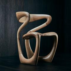 Tom Vaughan S Chair handmade abstract wooden chair by Tom Vaughan - 1627027
