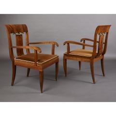 Tomaso Buzzi Pair of Armchairs attributed to Tomaso Buzzi Italy 1930s - 1919179