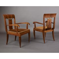 Tomaso Buzzi Pair of Armchairs attributed to Tomaso Buzzi Italy 1930s - 1919195