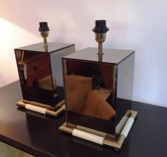 Tommaso Barbi 1970s Rare Pair of Tommaso Barbi Table Lamps - 255066