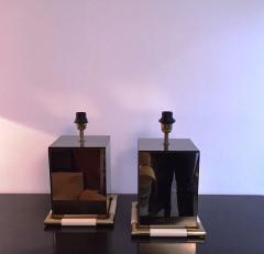 Tommaso Barbi 1970s Rare Pair of Tommaso Barbi Table Lamps - 255069