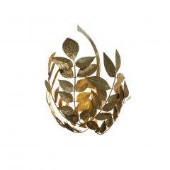 Tommaso Barbi Mid Century Modern Tommaso Barbi Brass Italian Pair of Sconces - 1251815