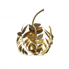 Tommaso Barbi Mid Century Modern Tommaso Barbi Brass Italian Pair of Sconces - 1251816
