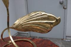 Tommaso Barbi Modernist Brass Table Lamp - 1852786
