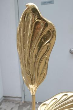 Tommaso Barbi Modernist Brass Table Lamp - 1852787