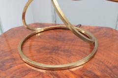 Tommaso Barbi Modernist Brass Table Lamp - 1852788