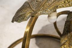 Tommaso Barbi Tommaso Barbi Rhubarb Table Lamp Golden Brass Italy circa 1970 - 1081364
