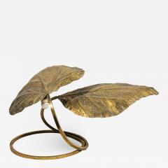 Tommaso Barbi Tommaso Barbi Rhubarb Table Lamp Golden Brass Italy circa 1970 - 1082430