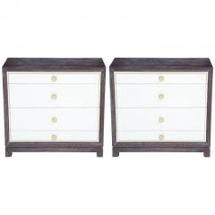 Tommi Parzinger Cerused Mahogany Chests - 838757