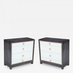 Tommi Parzinger Cerused Mahogany Chests - 839615