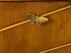 Tommi Parzinger EXCEPTIONAL MID CENTURY BRASS BUTTERFLIES SIDEBOARD - 1197859