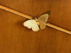 Tommi Parzinger EXCEPTIONAL MID CENTURY BRASS BUTTERFLIES SIDEBOARD - 1197860