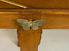 Tommi Parzinger EXCEPTIONAL MID CENTURY BRASS BUTTERFLIES SIDEBOARD - 1197862