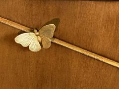Tommi Parzinger EXCEPTIONAL MID CENTURY BRASS BUTTERFLIES SIDEBOARD - 1198225